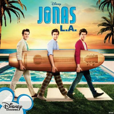 Jonas L.A. Soundtrack CD. Jonas L.A. Soundtrack