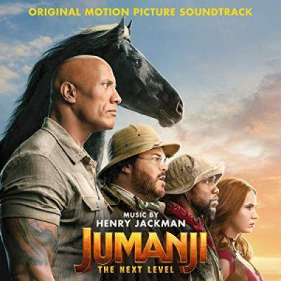 Jumanji: The Next Level Soundtrack CD. Jumanji: The Next Level Soundtrack