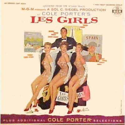 Les Girls Soundtrack CD. Les Girls Soundtrack