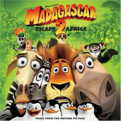 Madagascar 2: Escape 2 Africa Soundtrack CD. Madagascar 2: Escape 2 Africa Soundtrack