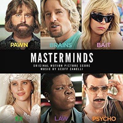 Masterminds Soundtrack CD. Masterminds Soundtrack