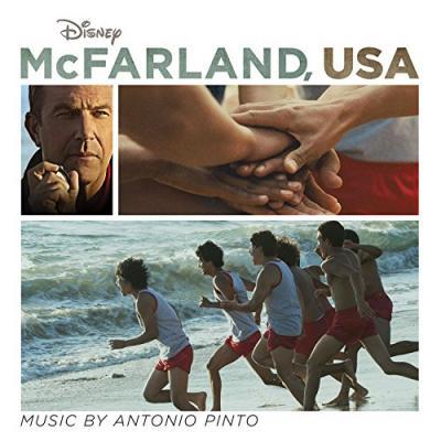McFarland, USA Soundtrack CD. McFarland, USA Soundtrack
