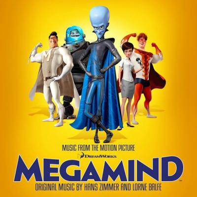 Megamind Soundtrack CD. Megamind Soundtrack