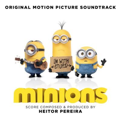 Minions Soundtrack CD. Minions Soundtrack