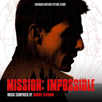 Mission Impossible Soundtrack CD. Mission Impossible Soundtrack