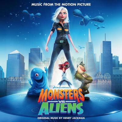Monsters Vs Aliens Soundtrack CD. Monsters Vs Aliens Soundtrack