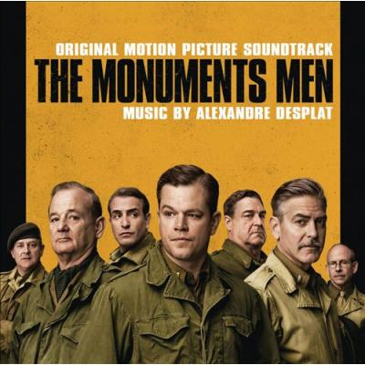 Monuments Men, The Soundtrack CD. Monuments Men, The Soundtrack