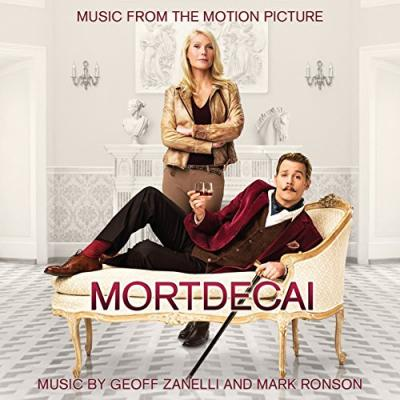 Mortdecai Soundtrack CD. Mortdecai Soundtrack