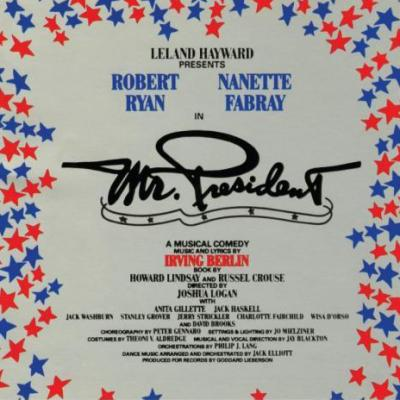 Mr. President Soundtrack CD. Mr. President Soundtrack