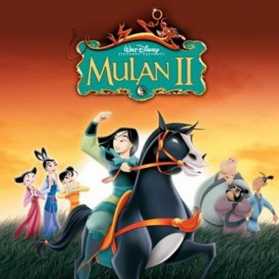 Mulan 2 Soundtrack CD. Mulan 2 Soundtrack