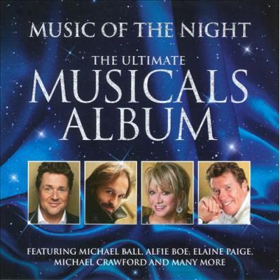 Music Of The Night - The Ultimate Musicals Album Soundtrack CD. Music Of The Night - The Ultimate Musicals Album Soundtrack