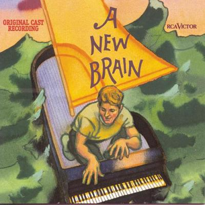New Brain Soundtrack CD. New Brain Soundtrack