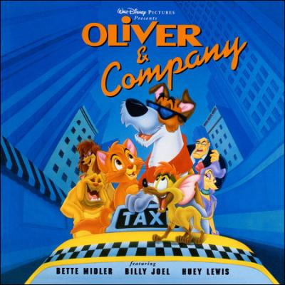 Oliver and Company Soundtrack CD. Oliver and Company Soundtrack