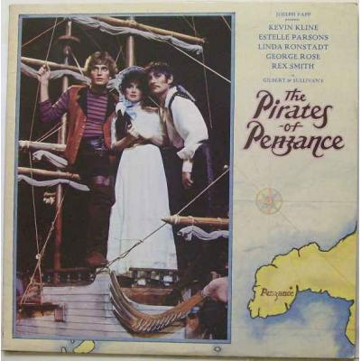 Pirates Of Penzance, The Soundtrack CD. Pirates Of Penzance, The Soundtrack