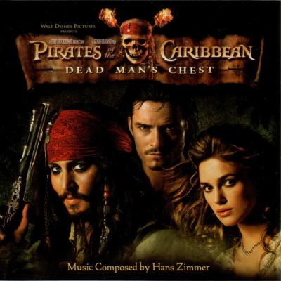 Pirates of the Caribbean Soundtrack CD. Pirates of the Caribbean Soundtrack