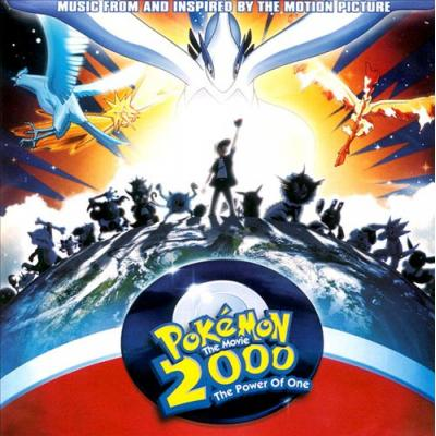 Pokemon 2000: Power of One Soundtrack CD. Pokemon 2000: Power of One Soundtrack