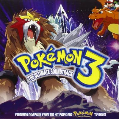 Pokemon 3: The Ultimate Soundtrack Soundtrack CD. Pokemon 3: The Ultimate Soundtrack Soundtrack