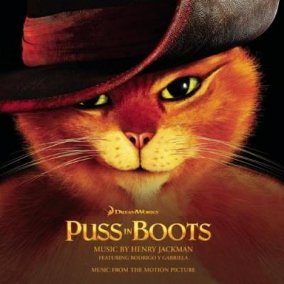 Puss In Boots Soundtrack CD. Puss In Boots Soundtrack