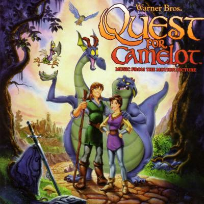 Quest For Camelot Soundtrack CD. Quest For Camelot Soundtrack