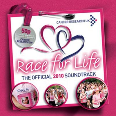 Race for Life Official 2010 - I Soundtrack CD. Race for Life Official 2010 - I Soundtrack