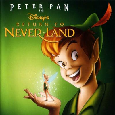 Return To Never Land Soundtrack CD. Return To Never Land Soundtrack