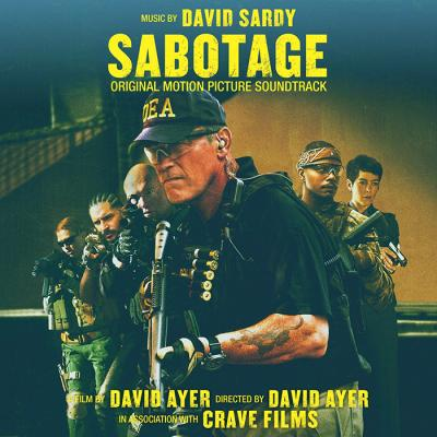 Sabotage Soundtrack CD. Sabotage Soundtrack