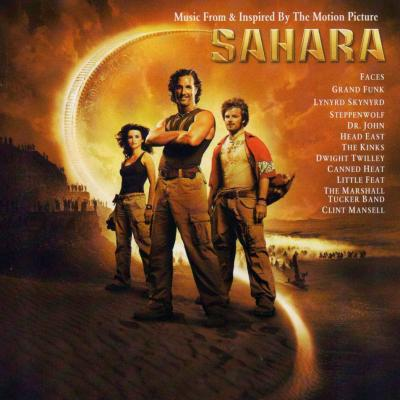 Sahara Soundtrack CD. Sahara Soundtrack