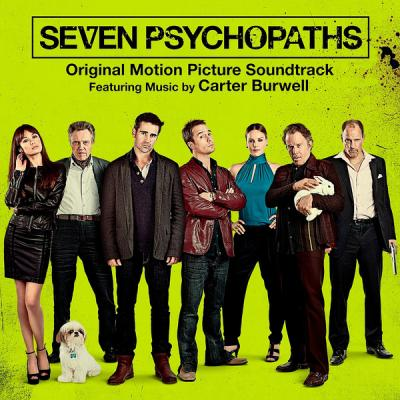 Seven Psychopaths Soundtrack CD. Seven Psychopaths Soundtrack