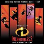 Incredibles 2 Soundtrack CD. Incredibles 2 Soundtrack