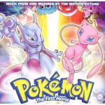 Pokemon the First Movie Soundtrack CD. Pokemon the First Movie Soundtrack