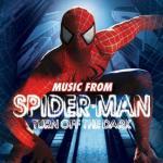 Spider-Man: Turn Off The Dark Soundtrack CD. Spider-Man: Turn Off The Dark Soundtrack