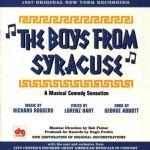 The Boys From Syracuse Soundtrack CD. The Boys From Syracuse Soundtrack