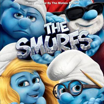 Smurfs, The Soundtrack CD. Smurfs, The Soundtrack