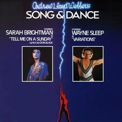 Song & Dance Soundtrack CD. Song & Dance Soundtrack