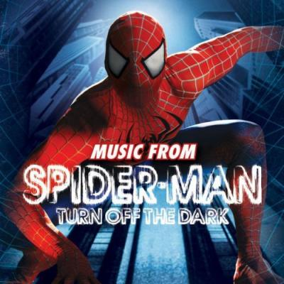 Spider-Man: Turn Off The Dark Soundtrack CD. Spider-Man: Turn Off The Dark Soundtrack