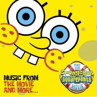 SpongeBob SquarePants Movie Soundtrack CD. SpongeBob SquarePants Movie Soundtrack