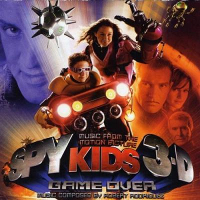 Spy Kids 3-D: Game Over Soundtrack CD. Spy Kids 3-D: Game Over Soundtrack