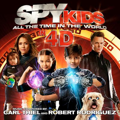 Spy Kids: All the Time in the World in 4D Soundtrack CD. Spy Kids: All the Time in the World in 4D Soundtrack
