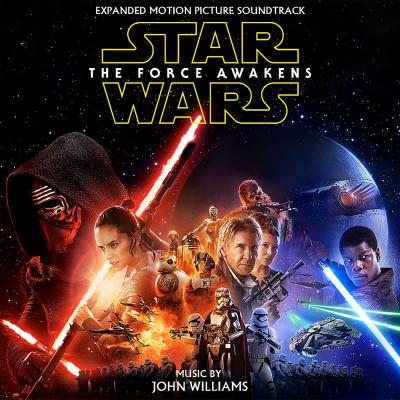 Awesome Star Wars: The Force Awakens Soundtrack CD. Star Wars: The Force Awakens  Soundtrack