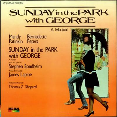 Sunday in the Park With George Soundtrack CD. Sunday in the Park With George Soundtrack