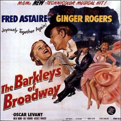 The Barkleys of Broadway Soundtrack CD. The Barkleys of Broadway Soundtrack