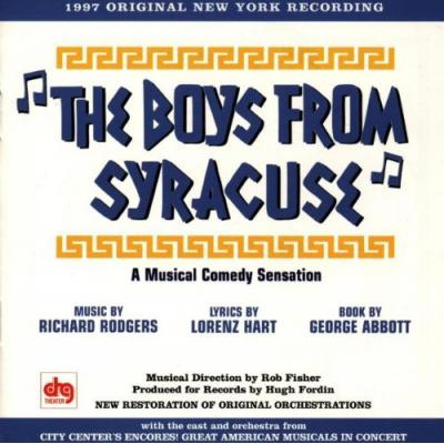 The Boys From Syracuse Soundtrack CD. The Boys From Syracuse Soundtrack