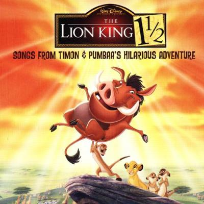 The Lion King 1 1/2 Soundtrack CD. The Lion King 1 1/2 Soundtrack Soundtrack lyrics