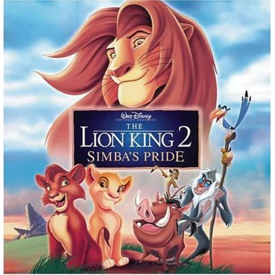 The Lion King 2: Simba's Pride Soundtrack CD. The Lion King 2: Simba's Pride Soundtrack