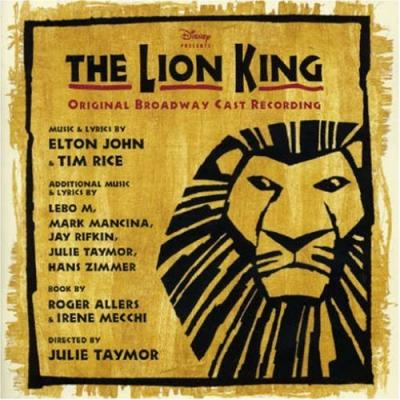 The Lion King: Musical Soundtrack CD. The Lion King: Musical Soundtrack
