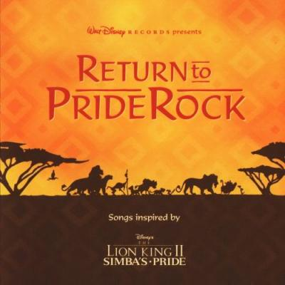 The Lion King: Return To Pride Rock Soundtrack CD. The Lion King: Return To Pride Rock Soundtrack