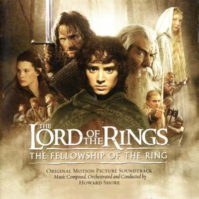 The Lord of the Rings: The Fellowship of the Ring Soundtrack CD. The Lord of the Rings: The Fellowship of the Ring Soundtrack