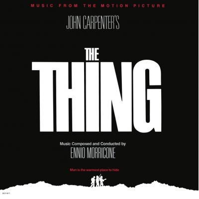The Thing Soundtrack CD. The Thing Soundtrack