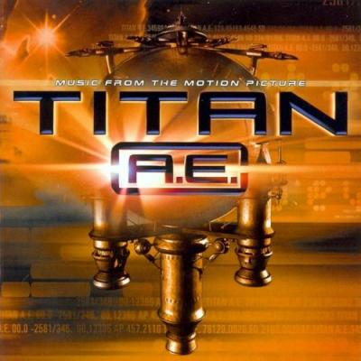 Titan A.E. Soundtrack CD. Titan A.E. Soundtrack
