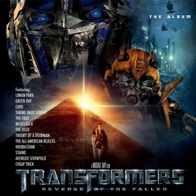 Transformers: Revenge Of The Fallen Soundtrack CD. Transformers: Revenge Of The Fallen Soundtrack